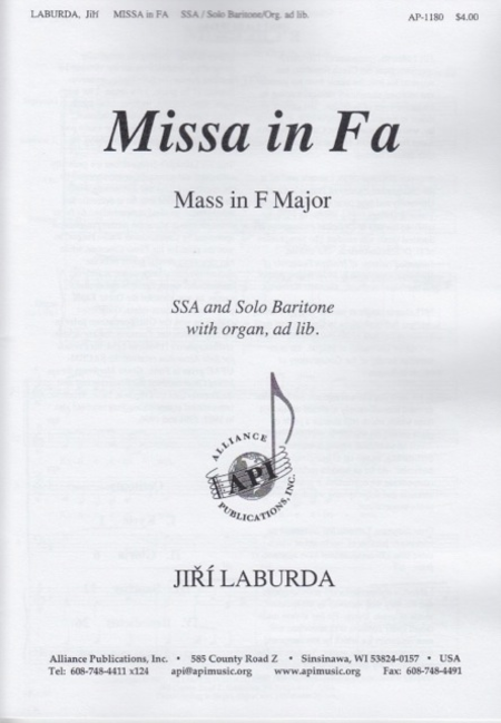Missa in Fa (Mass in F Major)