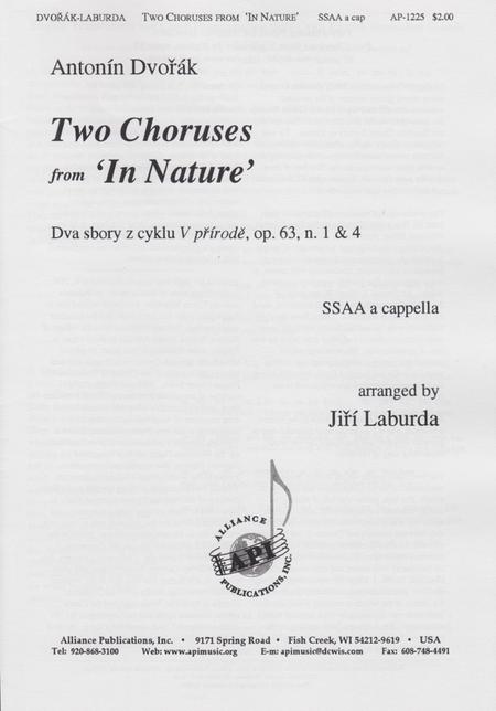 Two Choruses from in Nature/Dva Sbory Z Cyklu Prirode