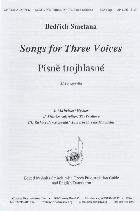 Songs for Three Voices