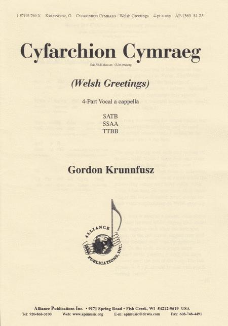 Cyfarchion/Welsh Greetings