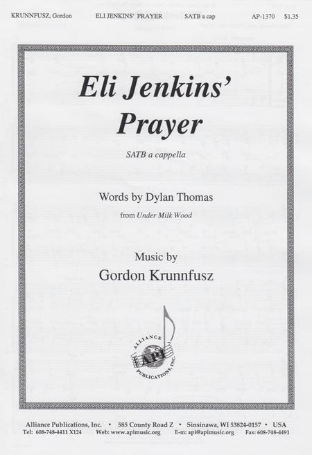 Eli Jenkins' Prayer