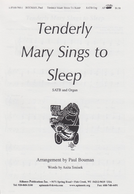 Tenderly Mary Sings To Sleep