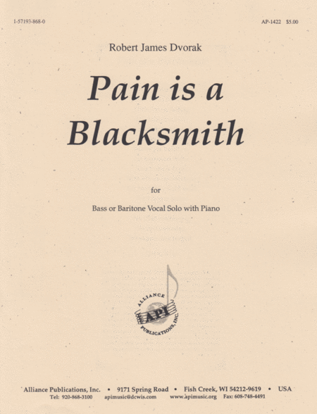 Pain Is a Blacksmith