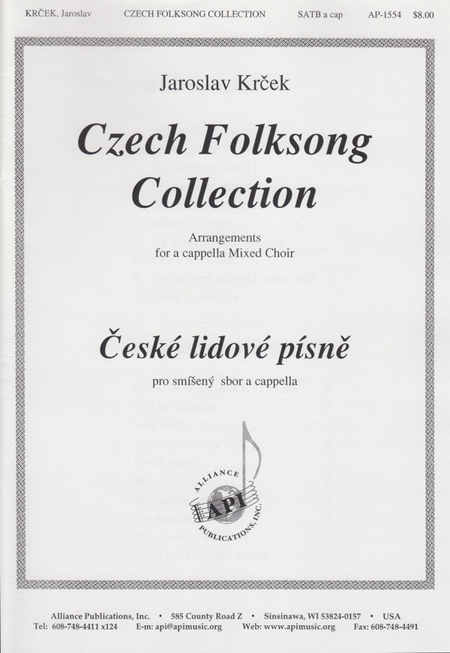 Czech Folksong Collection