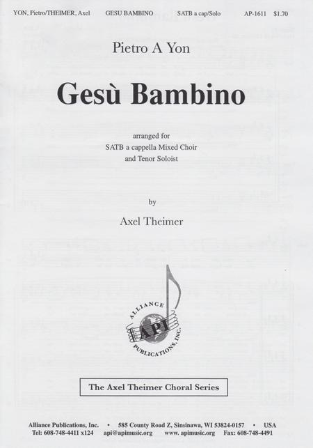 O Come, Let Us Adore (Gesu Bambino)