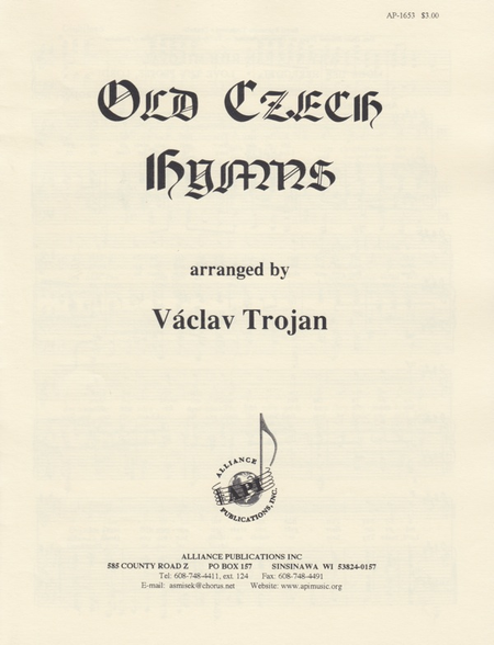 Old Czech Hymns