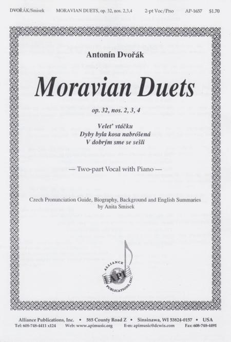 Moravian Duets, Op. 32, No. 2,3,4