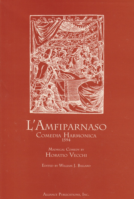 L'Amfiparnaso-1594 Madrigal Comedy