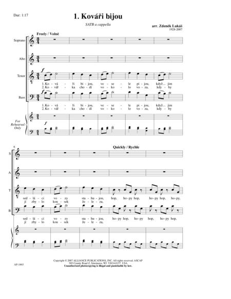 Kovari Bijou/Horo (4 Czech Folksongs)