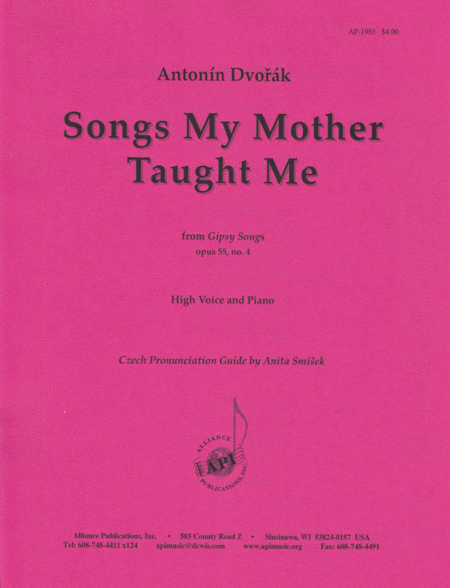 Songs My Mother Taught Me