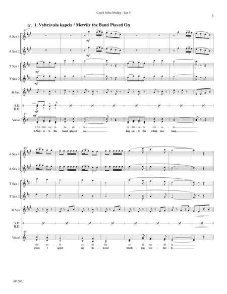 Czech Polka Medley for Sax Quintet
