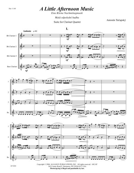 Eine Kleine Nachmittagmusik/A Little Afternoon Music