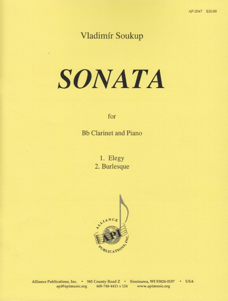 Sonata for Bb Clarinet and Piano