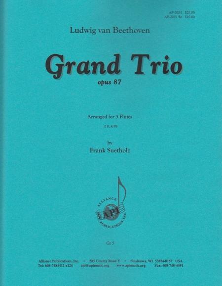 Grand Trio, Op. 87