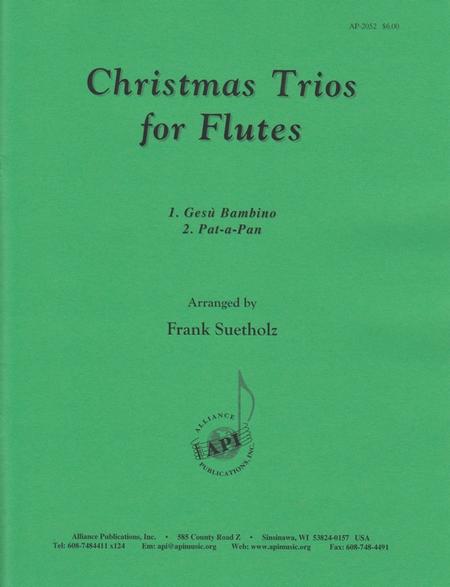 Christmas Trios for Flutes