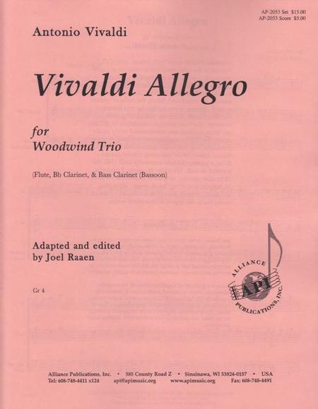 Vivaldi Allegro for Woodwind Trio
