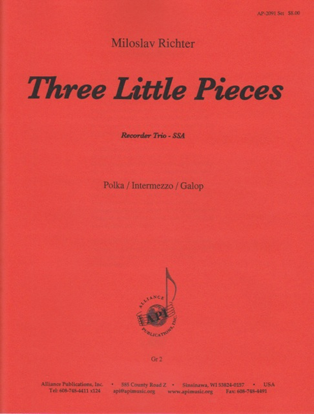 Three Little Pieces for Recorder Trio