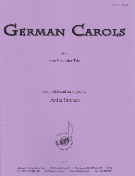 German Carols for Alto Recorder Trio