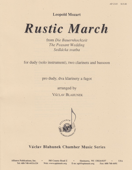 Rustic March from the Peasant Wedding