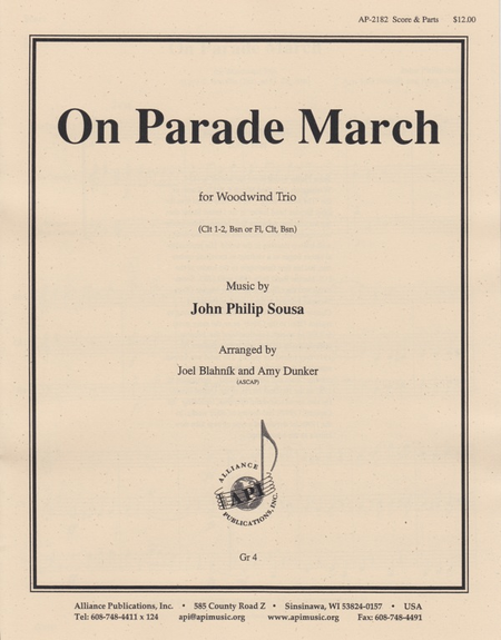 On Parade March