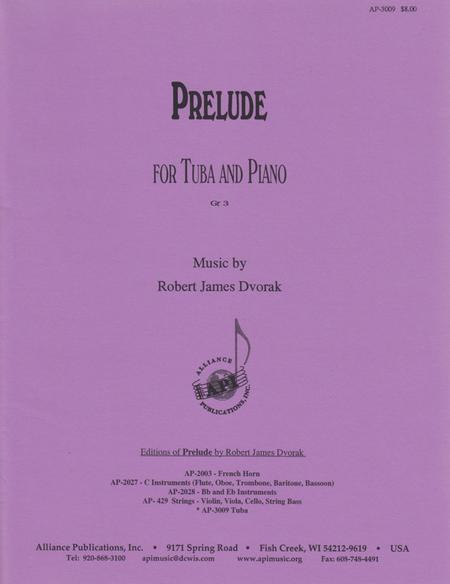 Prelude for Tuba and Piano