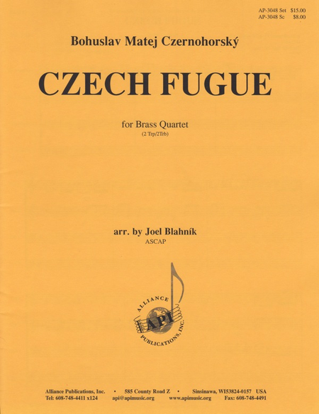 Czech Fugue for Brass Quartet