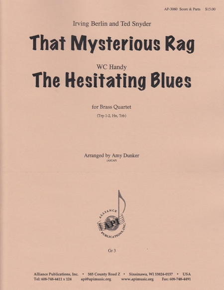 That Mysterious Rag and the Hesitating Blues