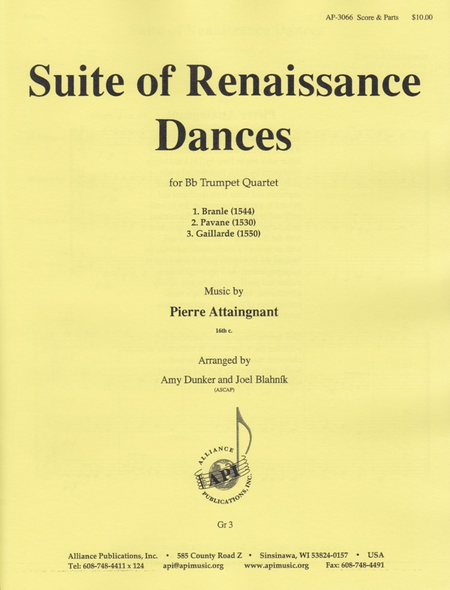 Suite of Renaissance Dances