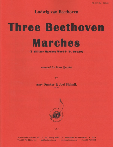 Three Beethoven Marches