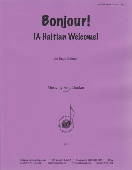 Bonjour! (A Haitian Welcome!)