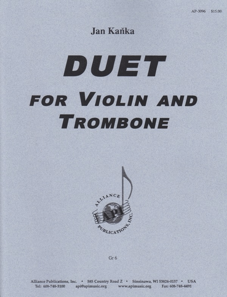 Duet for Violin and Trombone