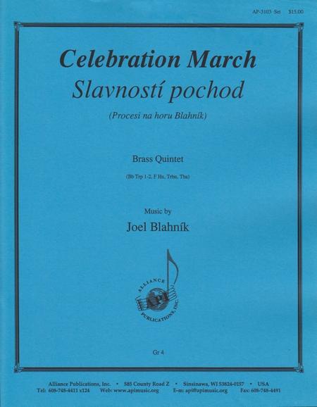 Celebration March for Brass Quintet