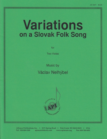 Variations on a Slovak Folk Song