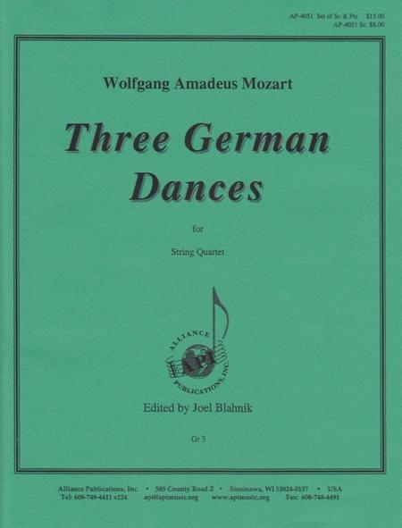 Three German Dances