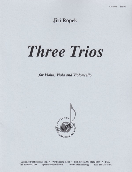 Three Trios for String Trio