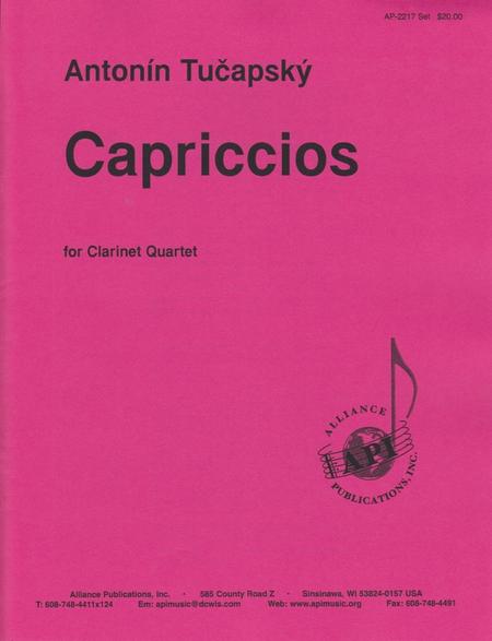 Capriccios for Clarinet Quartet