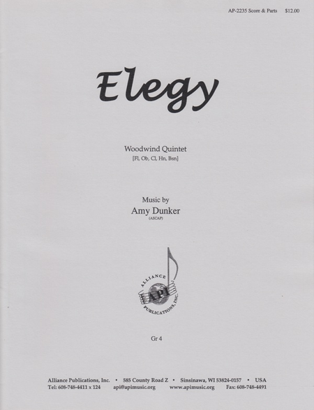 Elegy for Woodwind Quintet