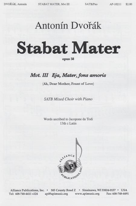 Stabat Mater, Movement III