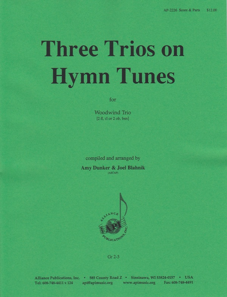 Three Trios on Hymn Tunes