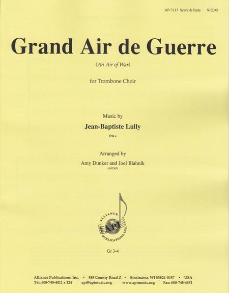 Grand Air De Guerre