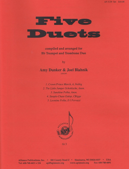 Five Duets for Trumpet and Trombone