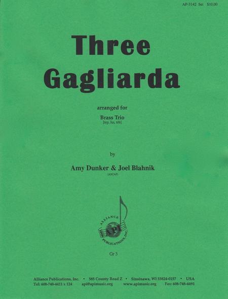 Three Gagliarda