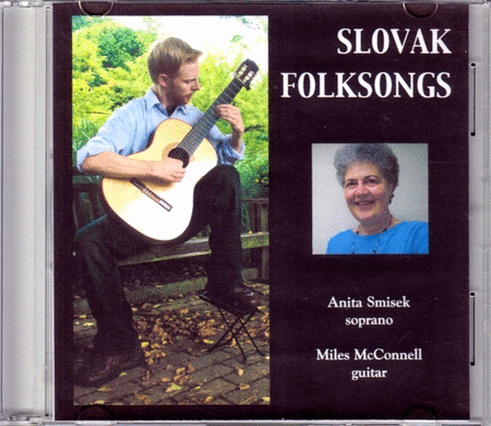 Slovak Folksongs Sung By Anita Smisek (CD)