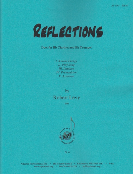 Reflections for Clarinet and Trumpet (5 Movements)