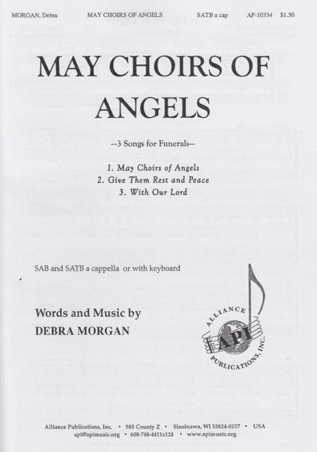 May the Choirs of Angels