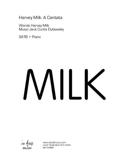 Harvey Milk: A Cantata (Coil binding)