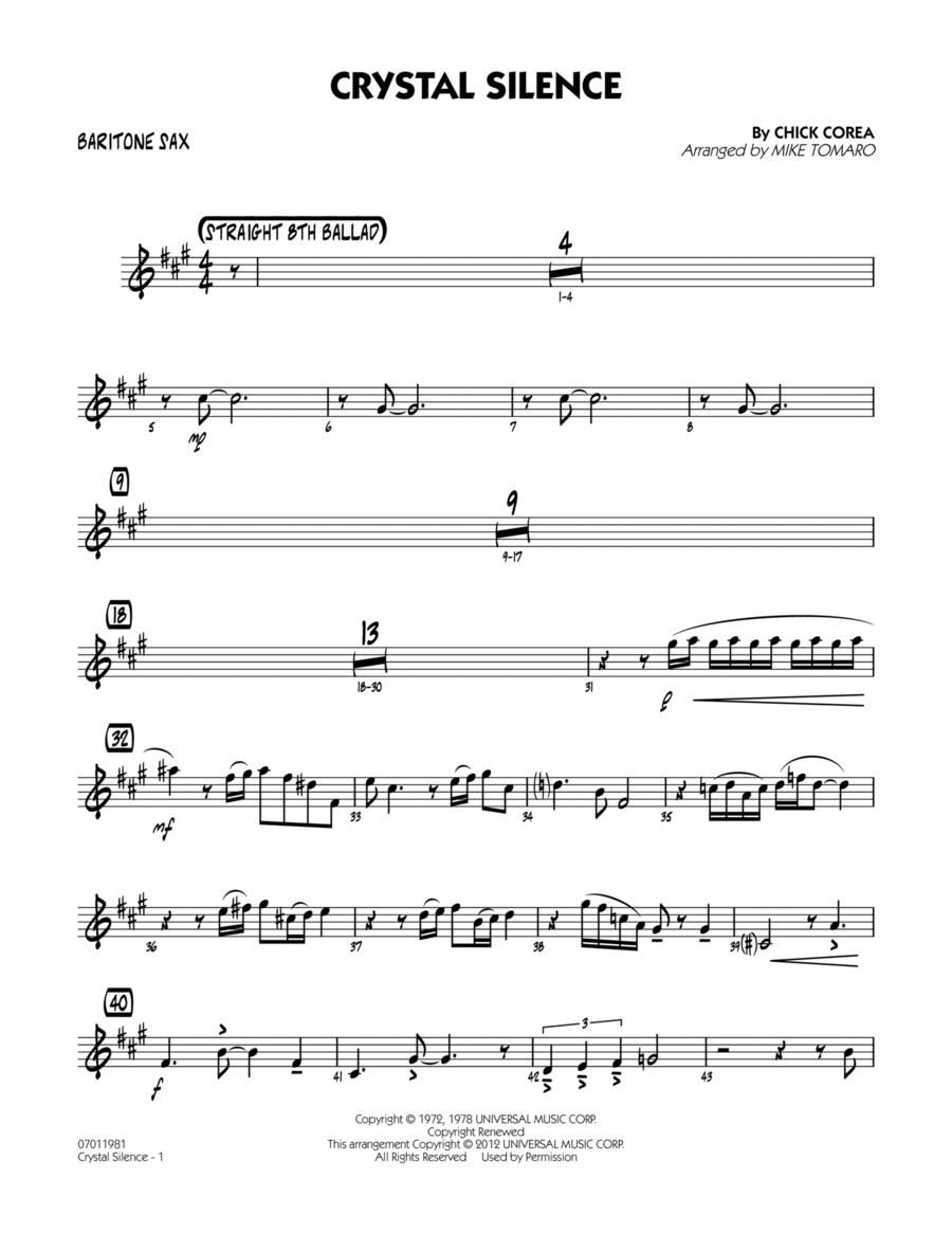Crystal Silence - Baritone Sax