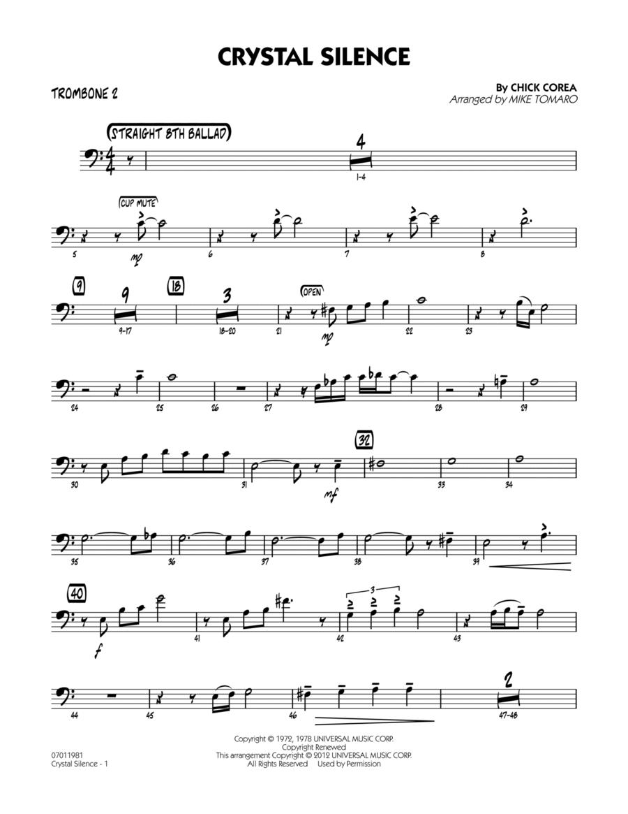 Crystal Silence - Trombone 2