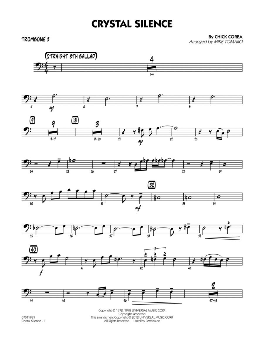 Crystal Silence - Trombone 3