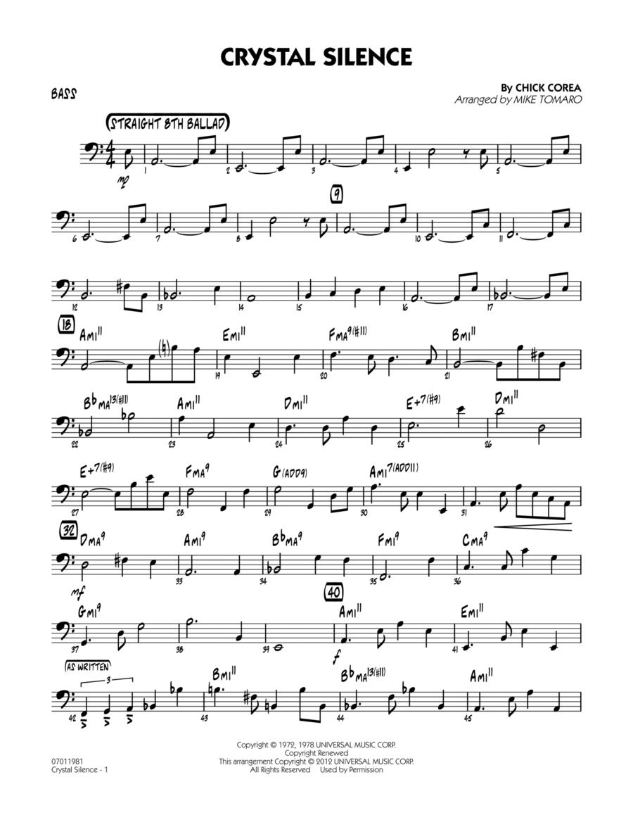 Crystal Silence - Bass
